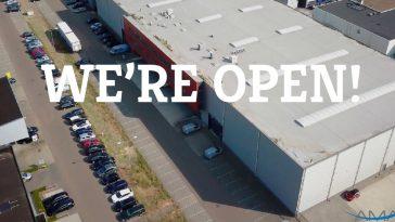 Opening nieuw logistiek centrum Amacom, The Amazing Company