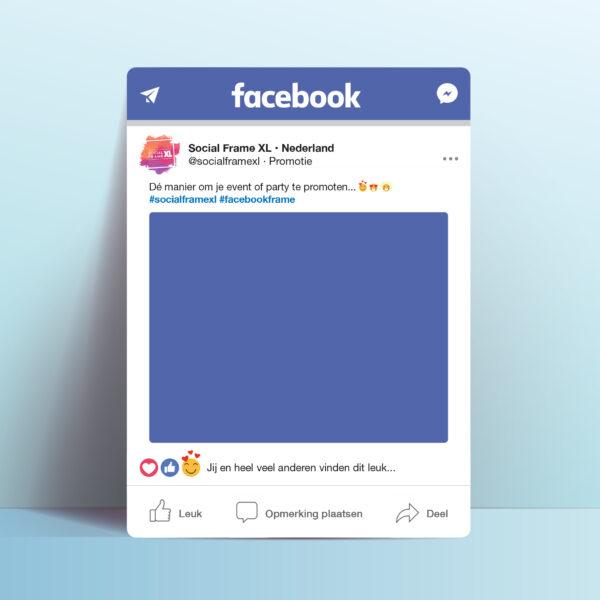 Facebook bord maken - Social Media frame