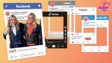 Social Media frame maken